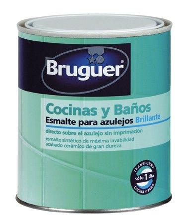 Tama o 750 ml esmalte sint tico brillante para la for Aplicar cera de concreto sobre baldosas