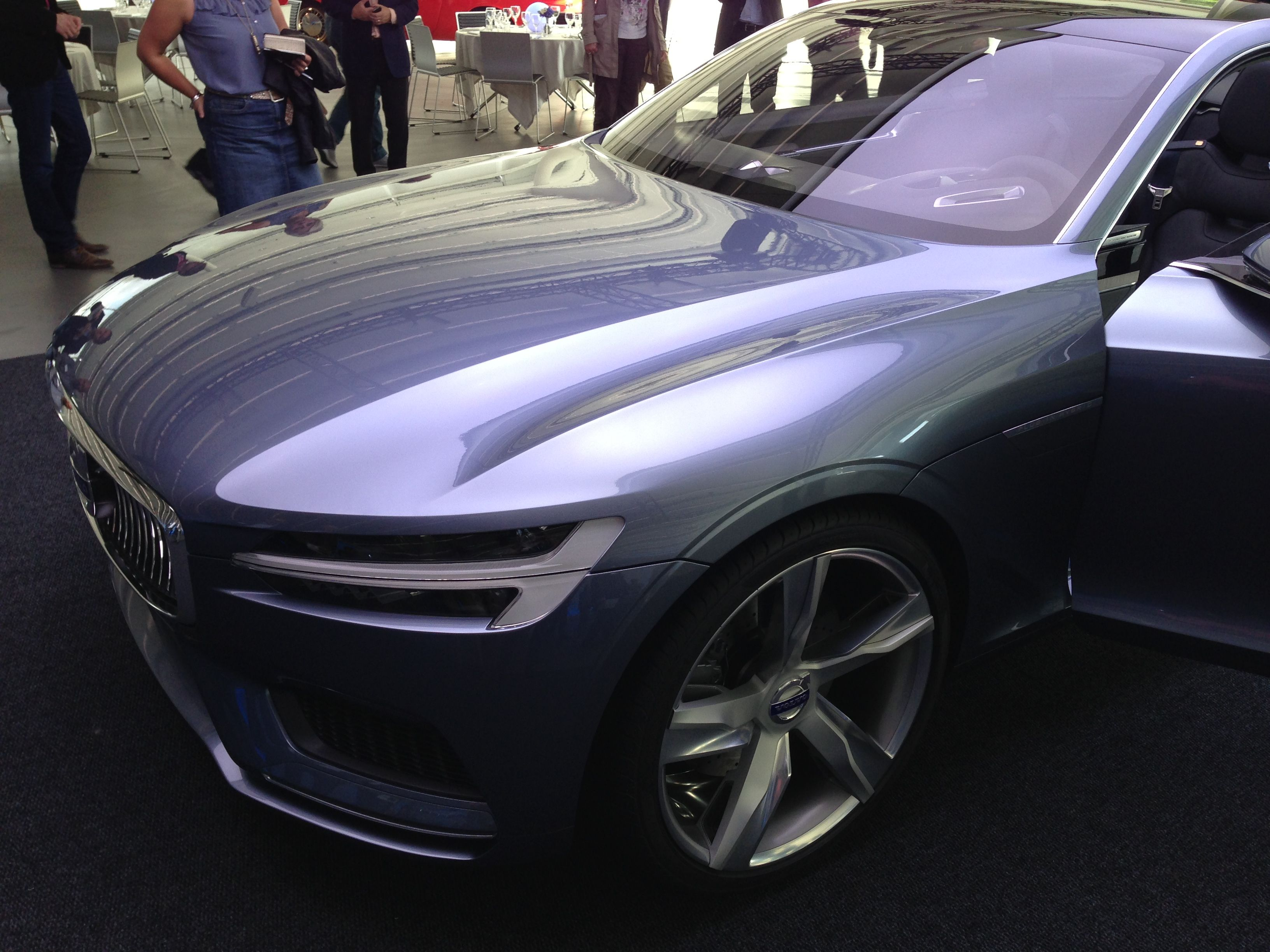 EXCLUSIVE Volvo Concept Coupe Officially Unveiled In
