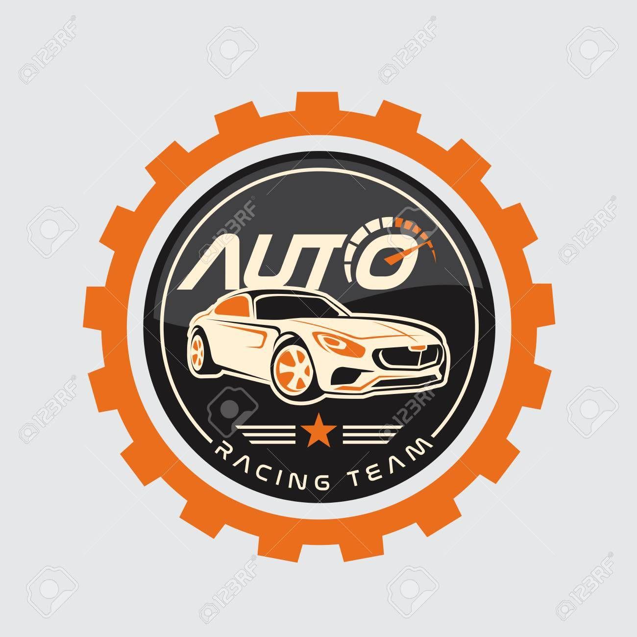 Auto Racing Logo Car Logo Vector Logo Template Illustration Affiliate Logo Car Auto Racing Template Logos Logo Templates Logo Design