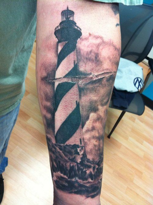 Light House – Tattoo Picture At CheckoutMyInkcom