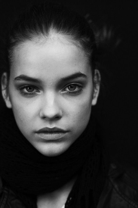 black and white face girl photography portrait image 174184