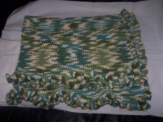 Multi Army Colored  Baby Blanket by KathysGiftsandMore on Etsy, $35.00