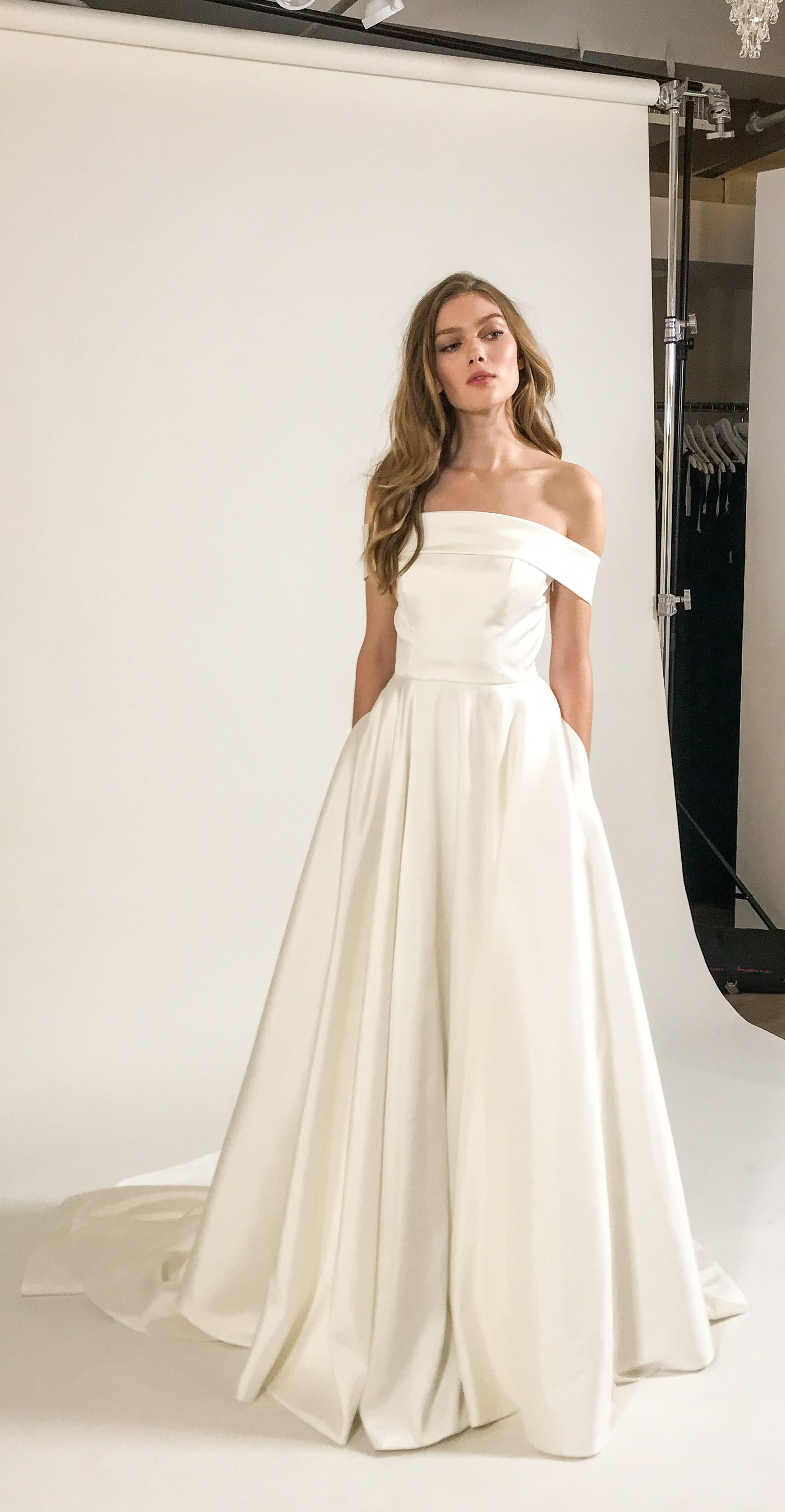 Princess Bride Cool Girl Vibe The Eliza Gown Is A Modern Take On The Classic Wedding Gowns Lace Backless Strapless Wedding Dress Princess Elegant Ball Gowns,Nice Long Dresses For Weddings