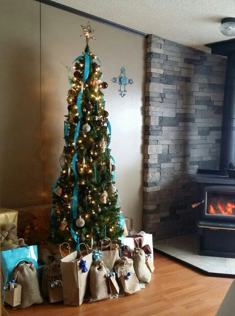 Rustic Southwestern Christmas Tree