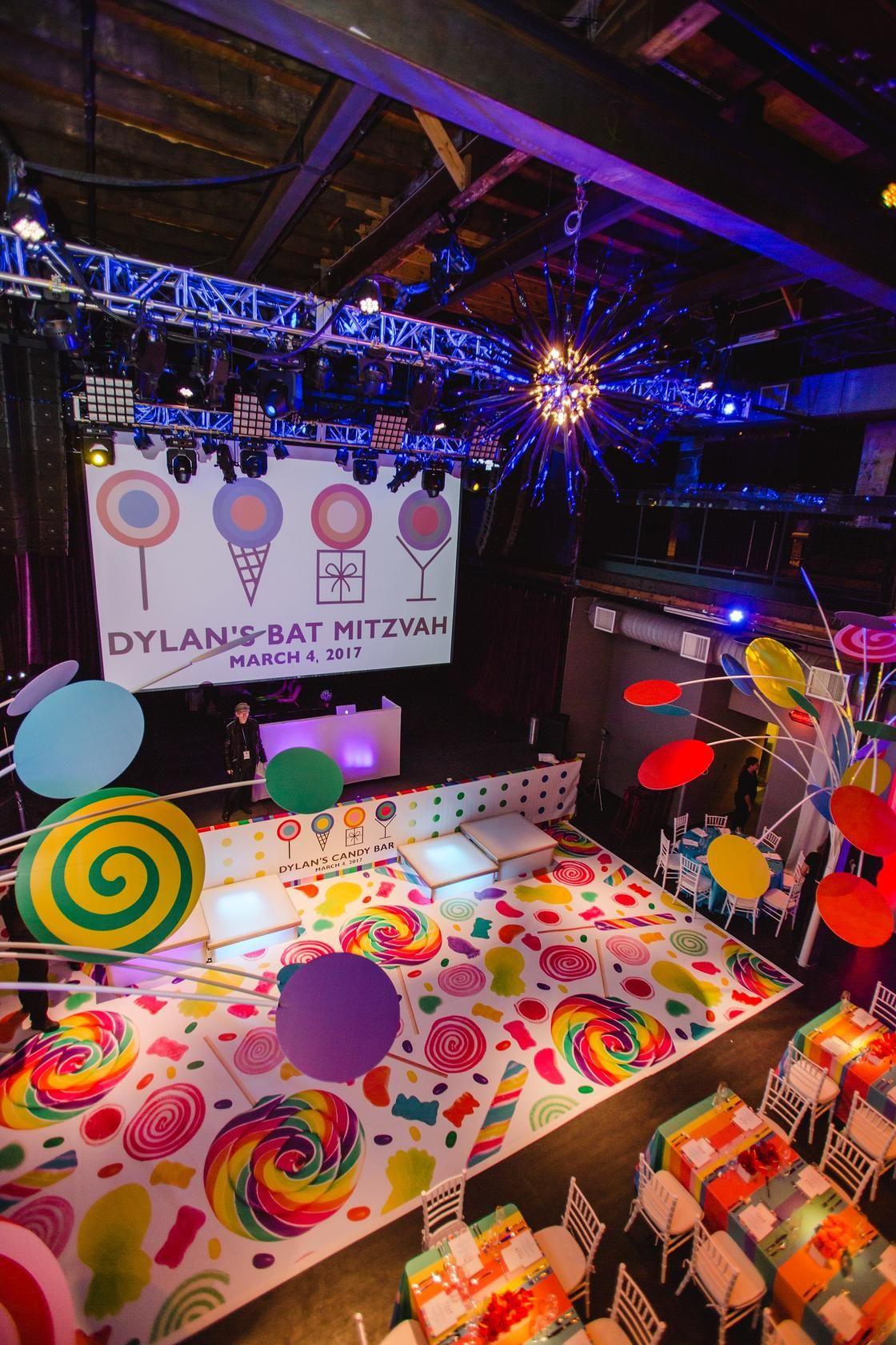 Dylan S Candy Bar Bat Mitzvah Theme Candy Bar Party Bat