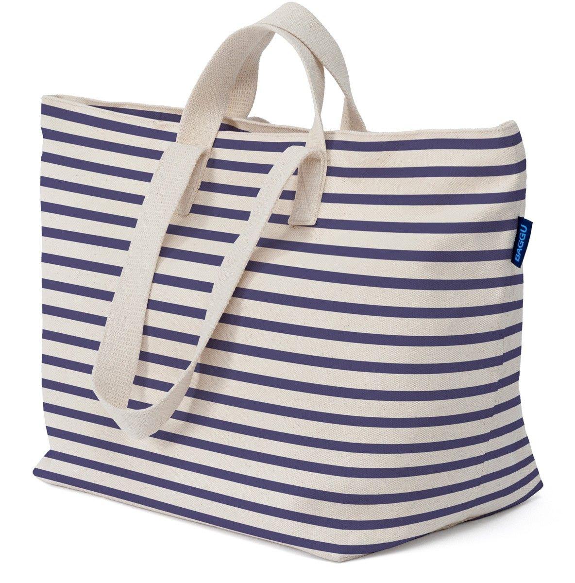 BAGGU WEEKEND BAG SAILOR STRIPE | Cute Travel Bags For Women ...