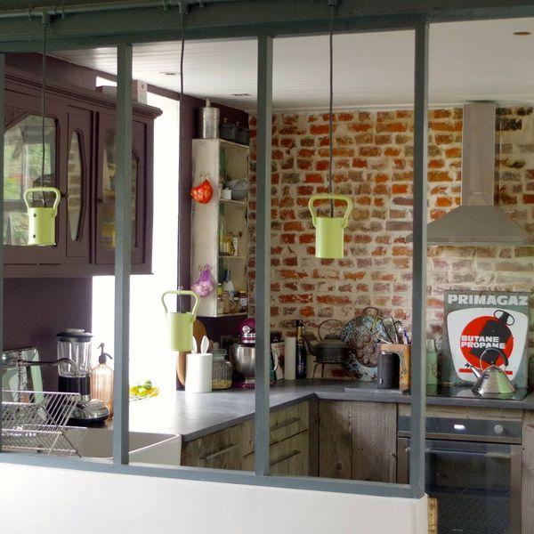 Avant apr s plus de 10 cuisines modernis es par les - Renover une cuisine rustique en moderne ...