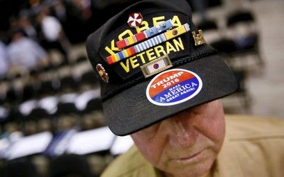 Trump won with an overwhelming 61% of Veteran Voters - http://conservativeread.com/trump-won-with-an-overwhelming-61-of-veteran-voters/
