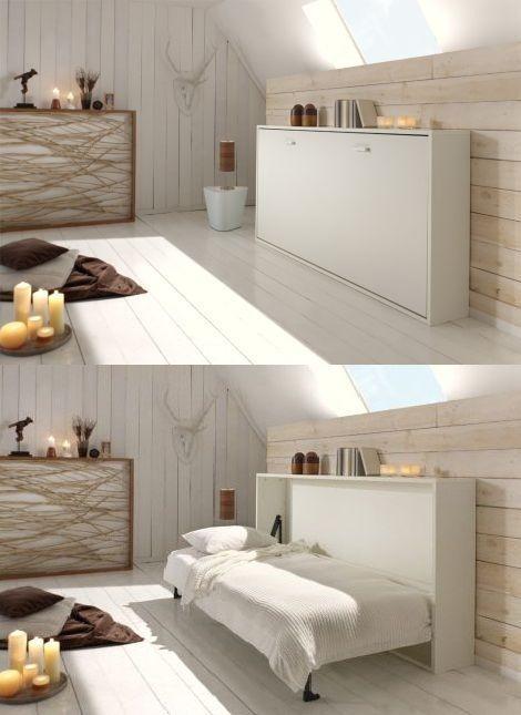 20 fantastiche soluzioni per un letto salvaspazio a