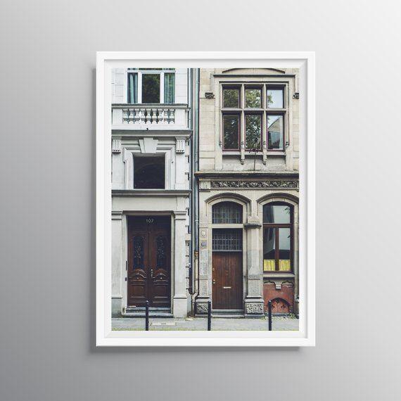 Photo of Architectural Prints, Vintage Window Wall Art, Bedroom Decor, Wooden Door Print, Photography …