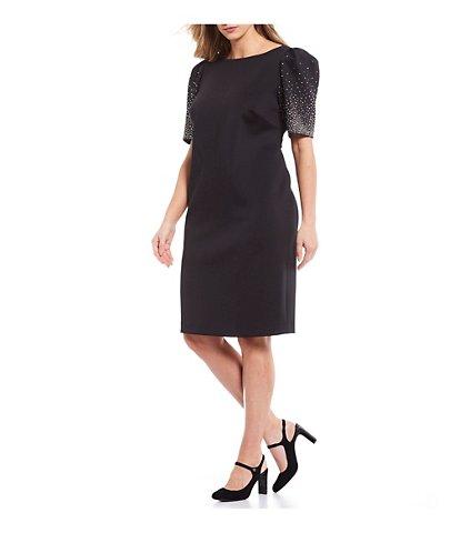 women's plussize dresses  gowns  dillard's  black