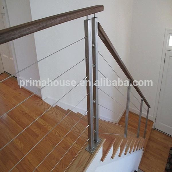 rope stair railing stainless steel wire baluster suppliers an ...