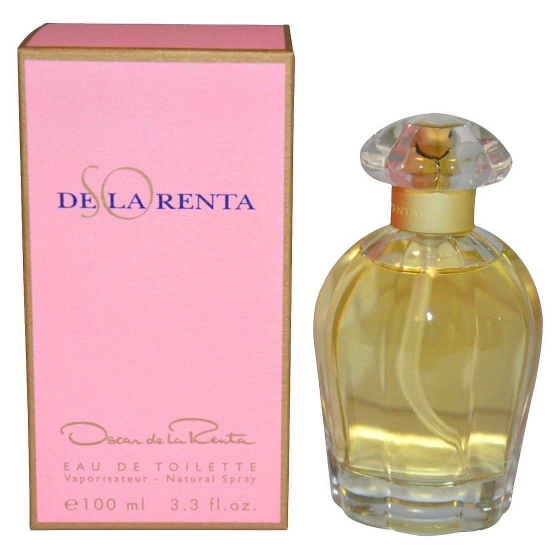 Women's So de la Renta by Oscar De La Renta Eau de Toilette Spray - 3.3 oz
