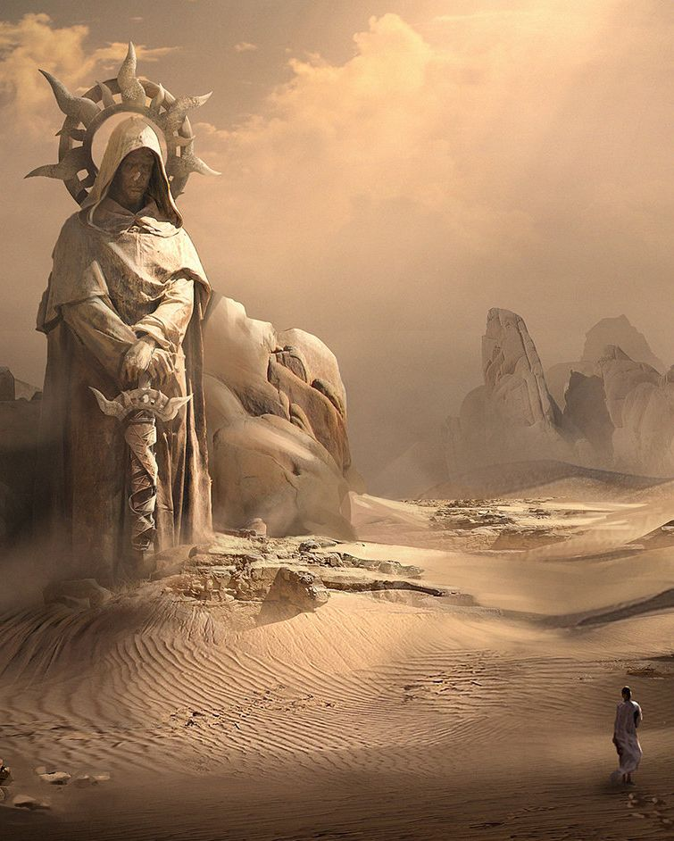 Hebra Gorlei, o Templo Esquecido das Areias, em Eskhat. Hebra foi erguido em honra do antigo Primeira Virtude de Ninara, caído em batalha na 10a. Era. O templo foi corrompido, retomado pelo bem e depois infestado de awakens na Era passada. Atualmente, está abandonado.
