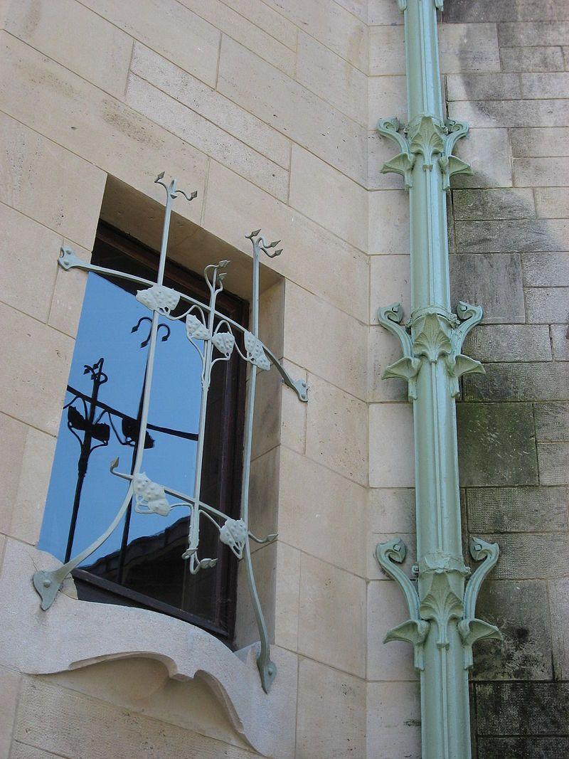 Villa Majorelle détail 03 by Line1 - Villa Majorelle — Wikimedia Commons
