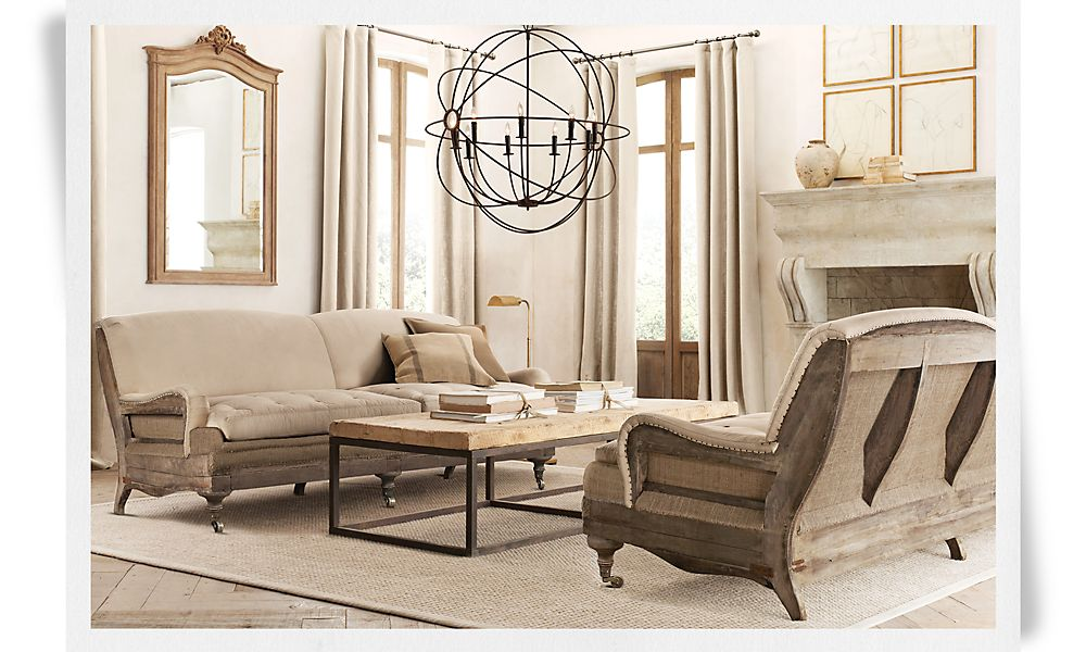 This Line Of Furniture From Restoration Hardware
