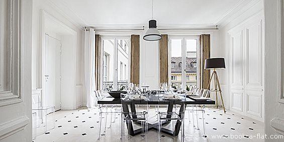 Location appartement 2 chambres Paris rue de Tournon 6ème
