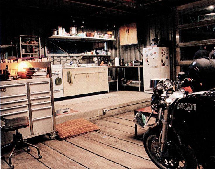 Tron Garage Apartment Google Search Industrial Living Garage