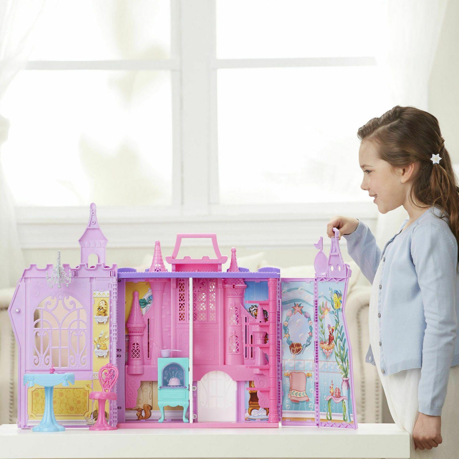 Huge Disney Princess Pop Up Palace Castle Dollhouse Playset Kid Toy Gift 59 99 Disne Disney Princess Palace Pets First Disney Princess Disney Princess Castle