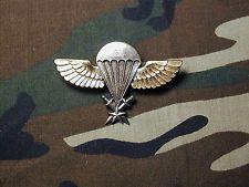 Old Senegal Airborne Parachutist Jump Wings