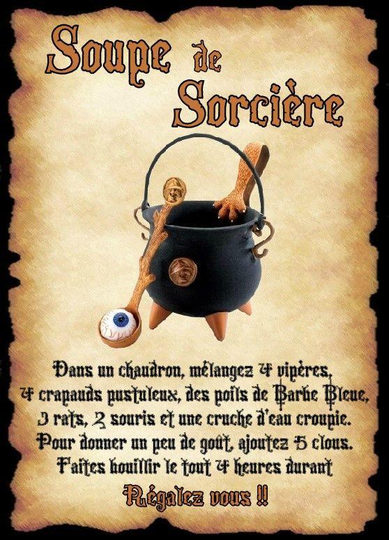 Affiche soupe de sorci re halloween pinterest sorci res affiches et halloween - Jeux de sorciere potion magique gratuit ...