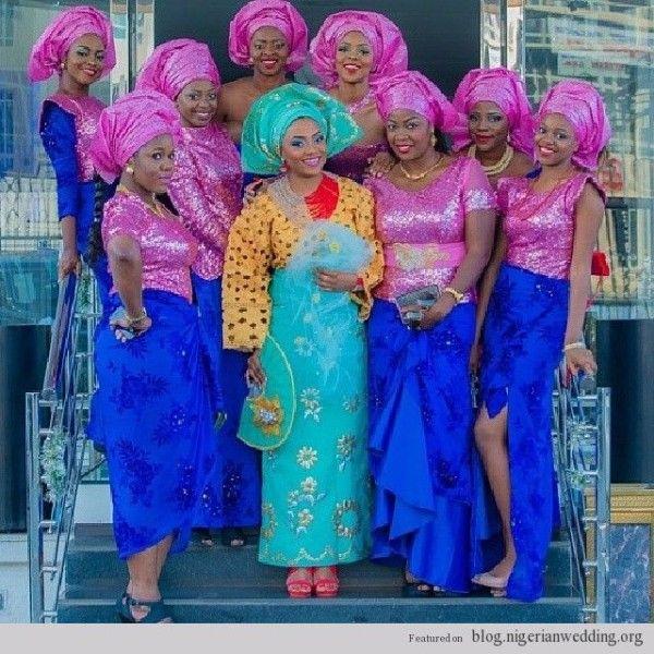 Nigerian Traditional wedding... ASO EBI styles | African Clothing ...
