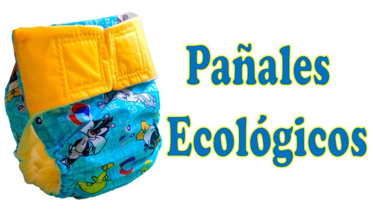 Tutorial Cómo Hacer Pañales Ecológicos Patrones Gratis