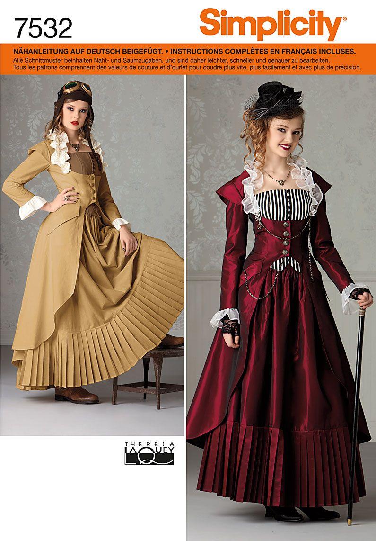 Viktorianisches kleid 48
