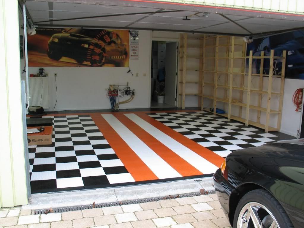 Mustang Garage Decor | Garage Floor Ideas