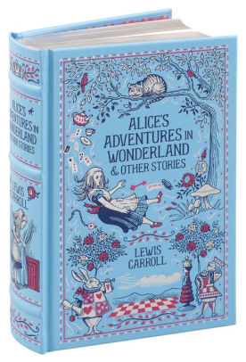Magnetic Closure Leather-bound Alices Adventures in Wonderland by Lewis Carroll AliceDrink Me Flask Hollow Book