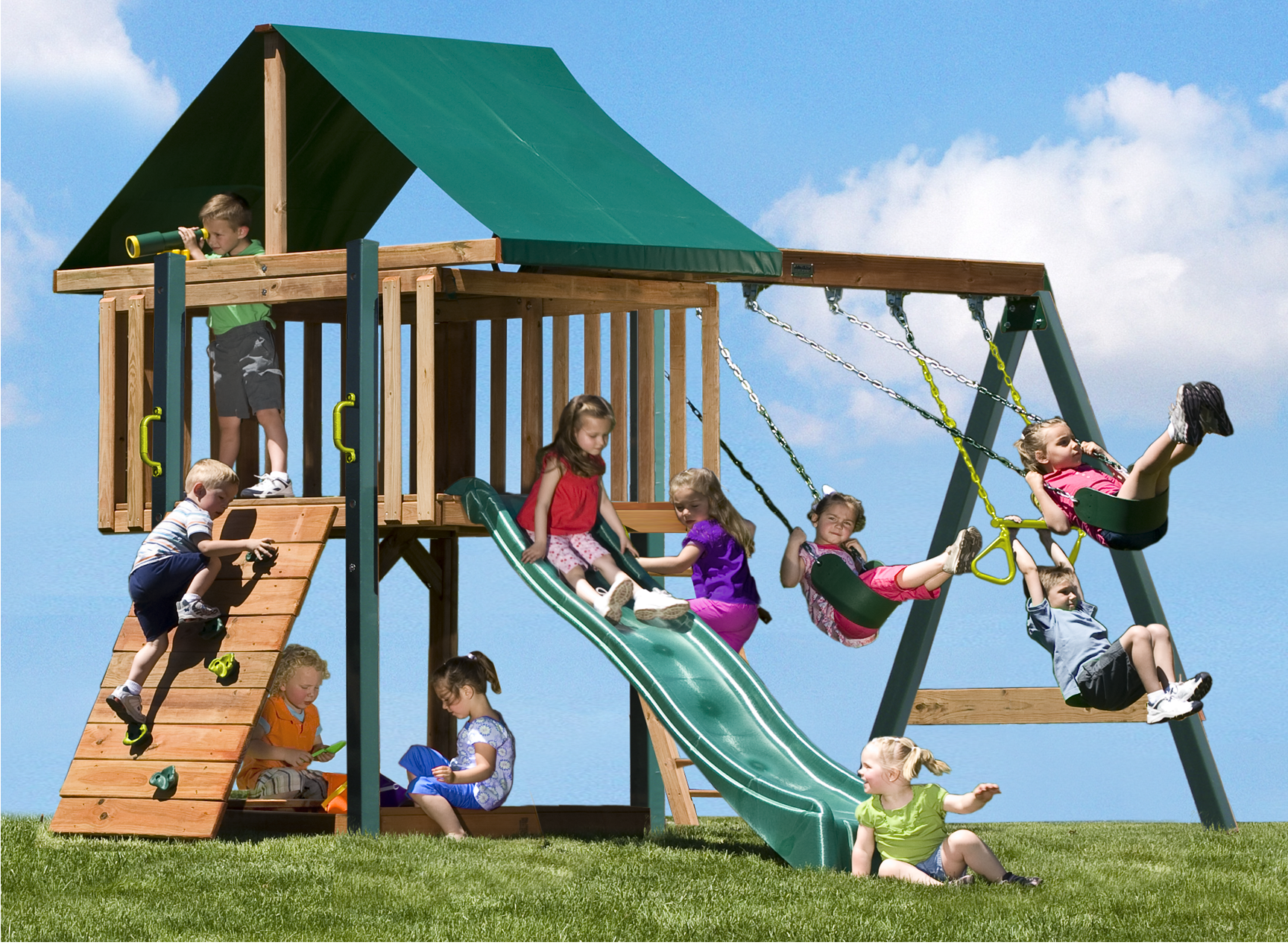 swing sets | swing sets for kids | ideas for Brady | Pinterest