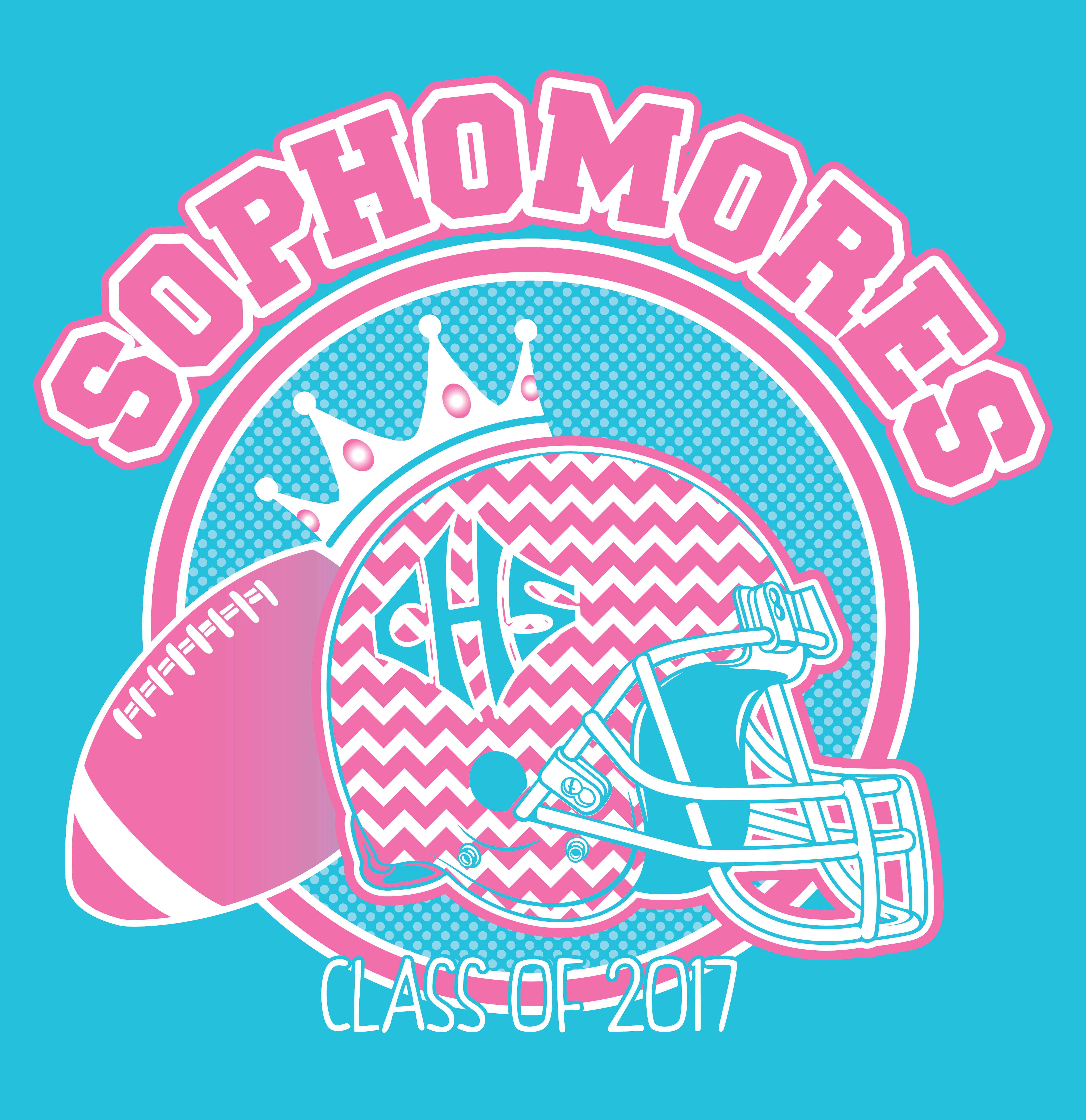 Shirt design killeen tx - Sophomore Powderpuff Football Ken Young Co Cairo High School High School