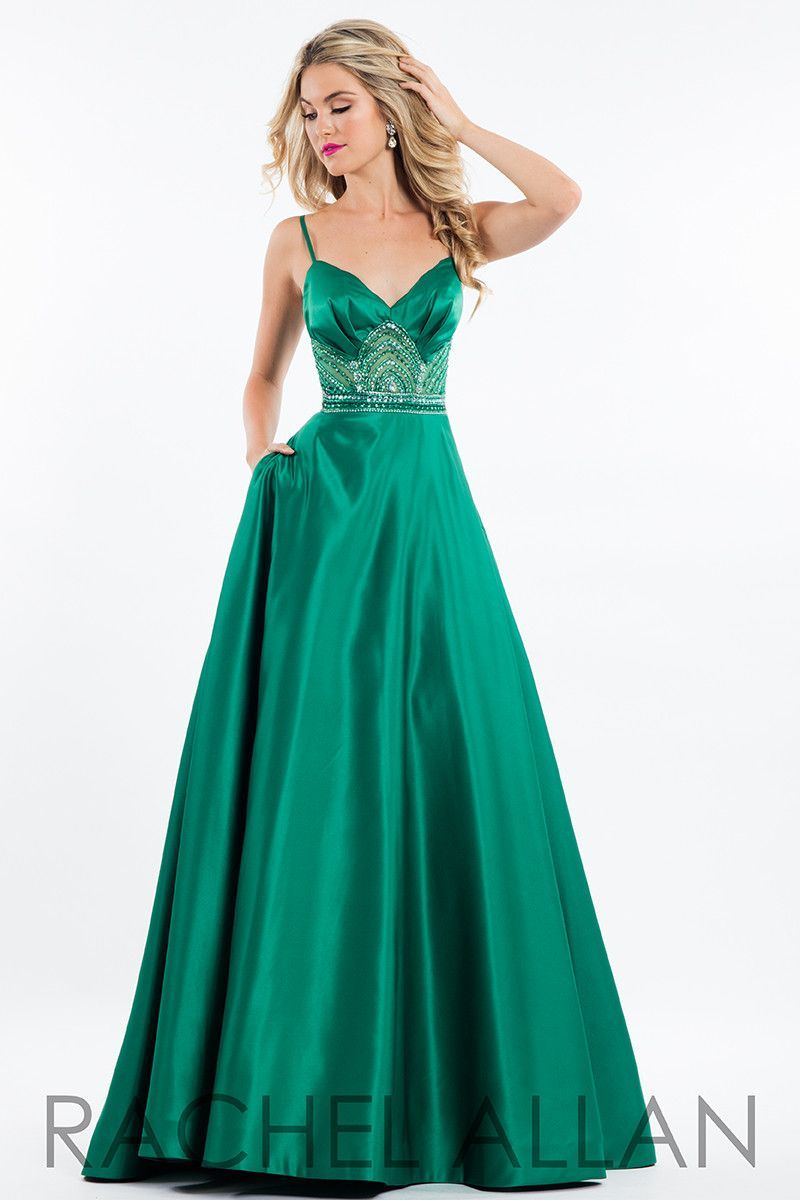 Be fun and elegant in this ball gown with a sweetheart top and ...