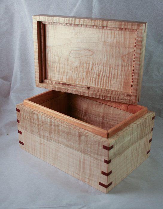 perfect diy wood storage box with lid 12