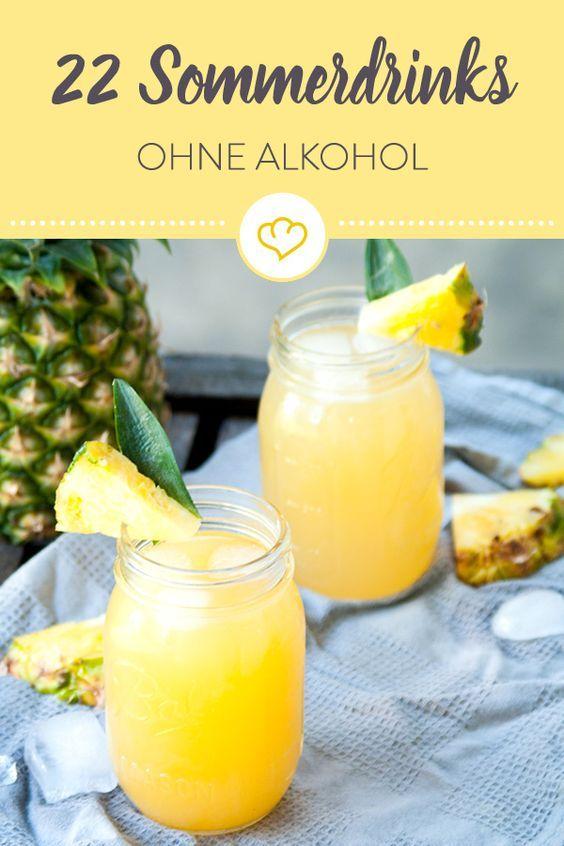 Sommerdrinks ohne Alkohol: 22 sonnige Erfrischungen #alcoholicpartydrinks