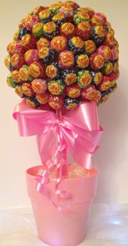 Edible lollipop tree suitable for buffet or sweet tables or wedding