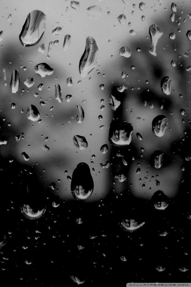 Abstract Cell Phone Wallpapers Hd Mobile Wallpapers Dark Wallpaper Iphone Rain Drops On Window Photography Wallpaper