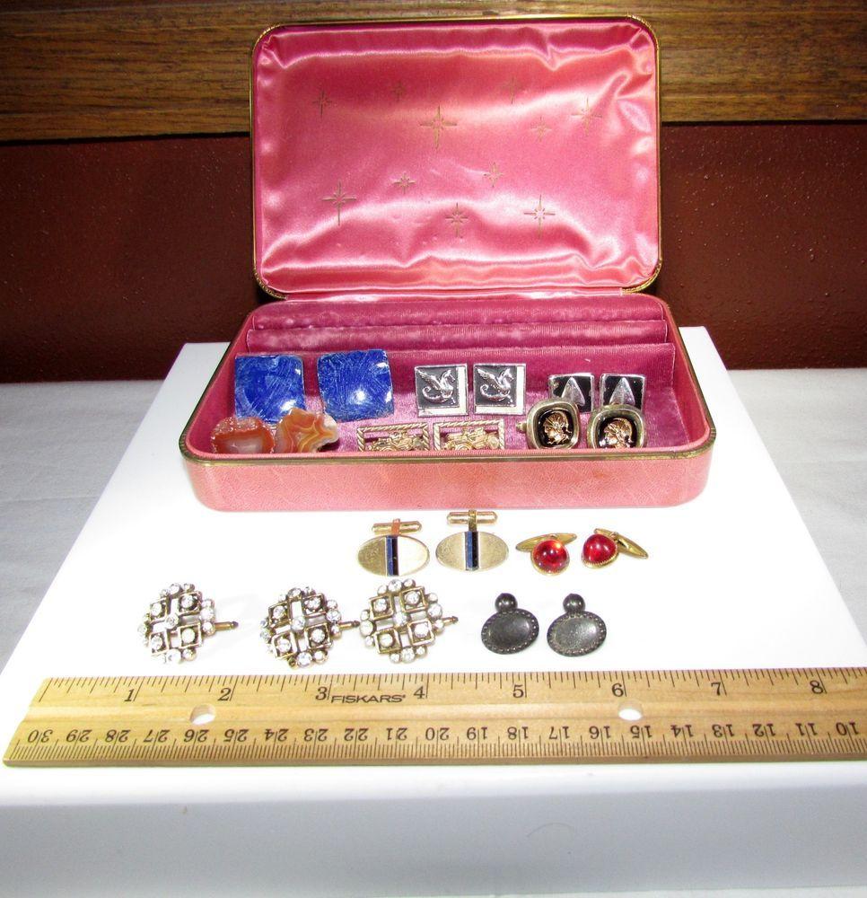 of Cufflinks with Farrington Jewelry Box