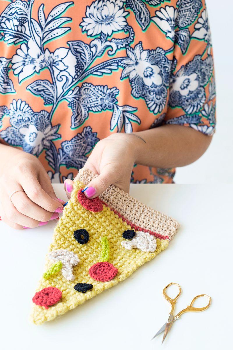 DIY Crochet Pizza Sweater   Pinterest   Nos gusta, Aplicación y ...