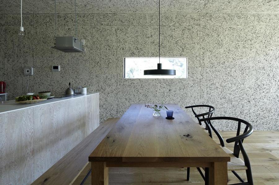 Pannelli osb colorati design della sala da pranzo sala for Interni colorati casa