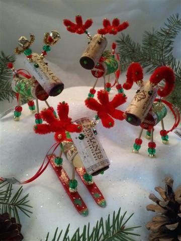 WINE CHRISTMAS ORNAMENT Winedeer ™ Very Merry por WineToTheNines