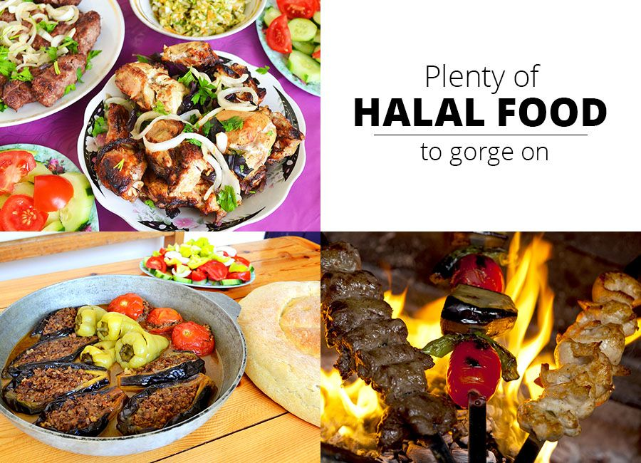 Plenty Of Halal Food To Gorge On Meat And Poultry Features Prominently In All The Food Preparations Such As Kebabs Minced Meat Etc While Pancakes Soups Eda