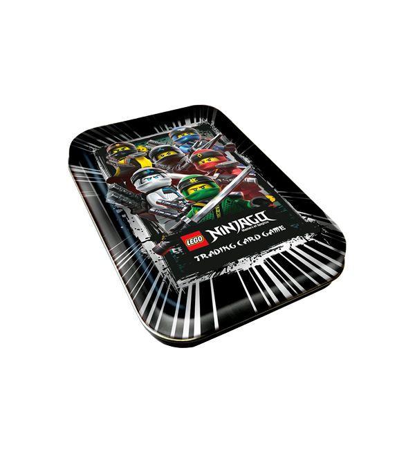 Lego Ninjago Serie 3 Trading Cards Mini Tin Schwarz 이미지 포함