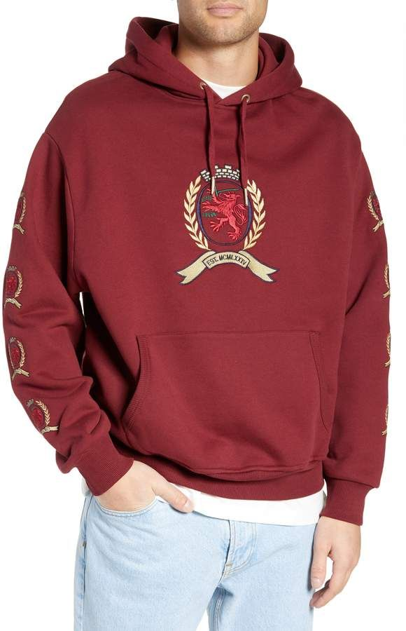 Tommy Jeans Embroidered Crest Logo Hoodie in 2019  e692a7360b