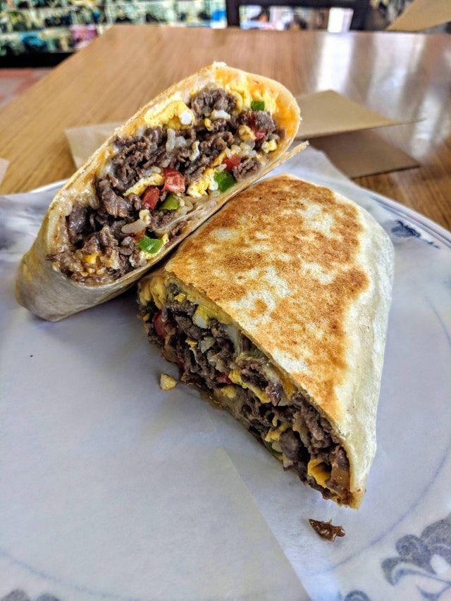 I Ate This Bulgogi breakfast burrito : food | Food ...