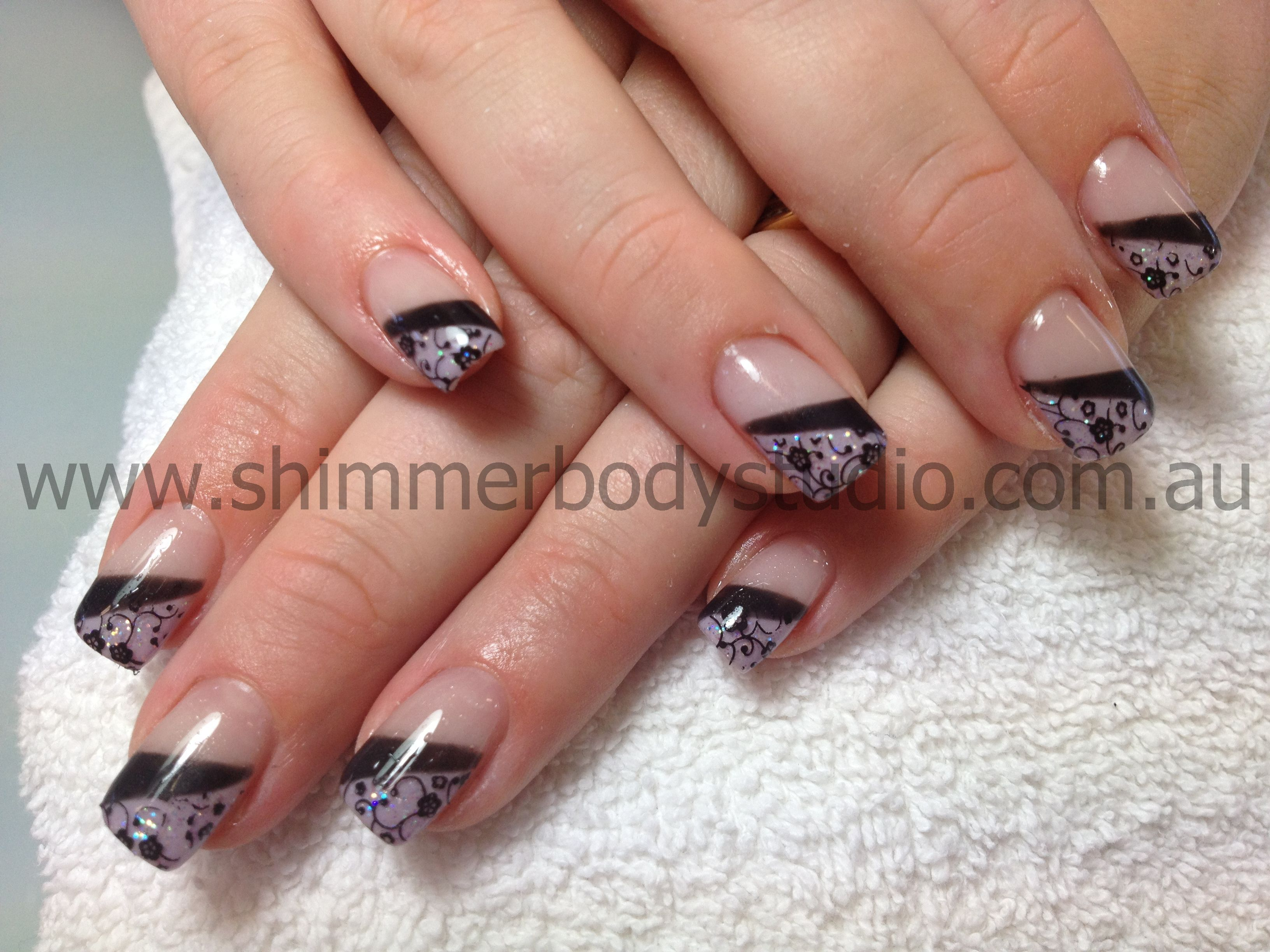 Gel Nails, Nail Art, Konad Stamping Nail Art. | Nails: Colour or ...