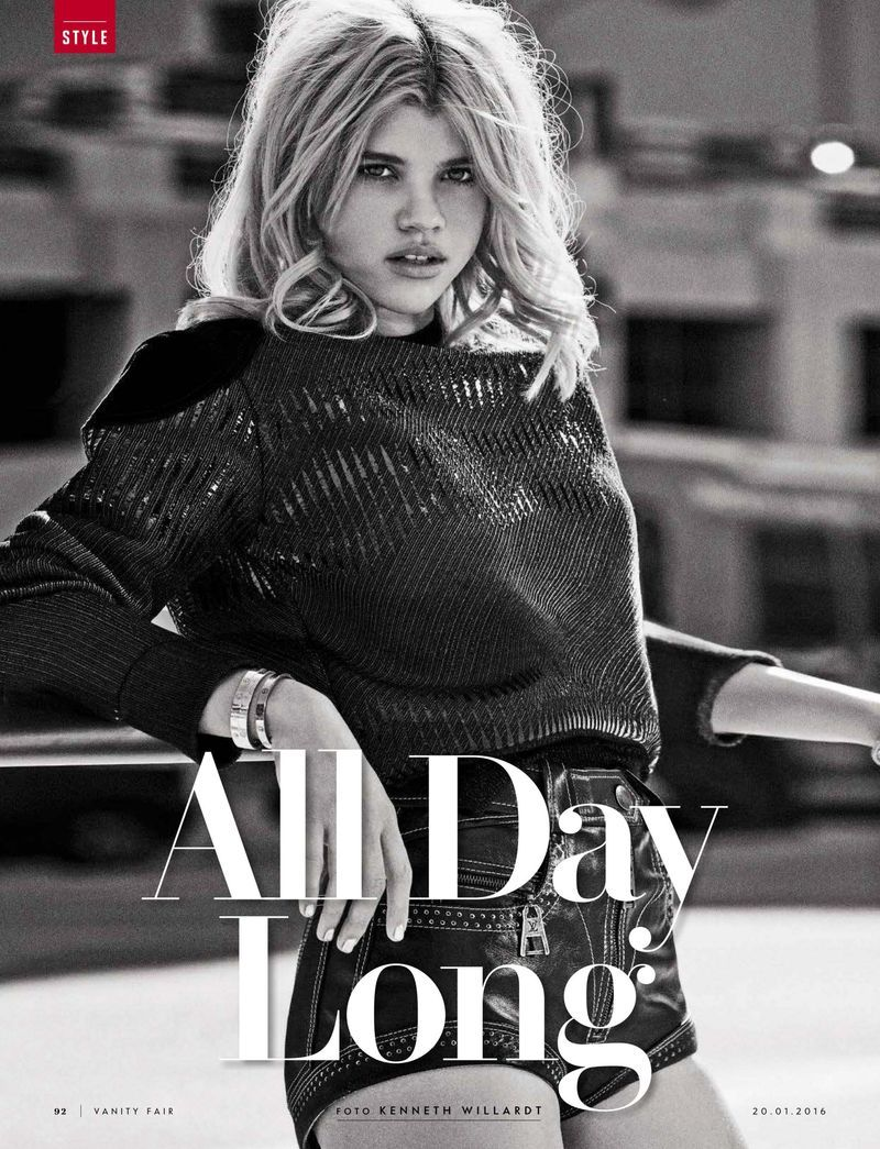 """""""All Day Long"""" Sofia Richie for Vanity Fair Italy January 2016"""