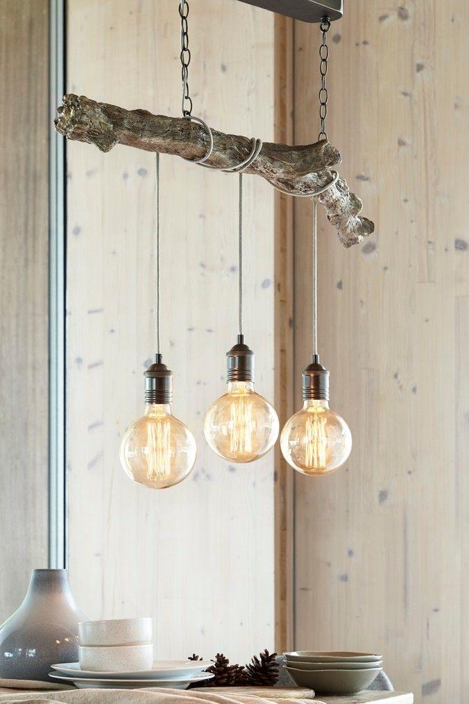 Next Branch Linear Bar Natural In 2020 Hanging Lights Hanging Pendant Lights Bar Lighting