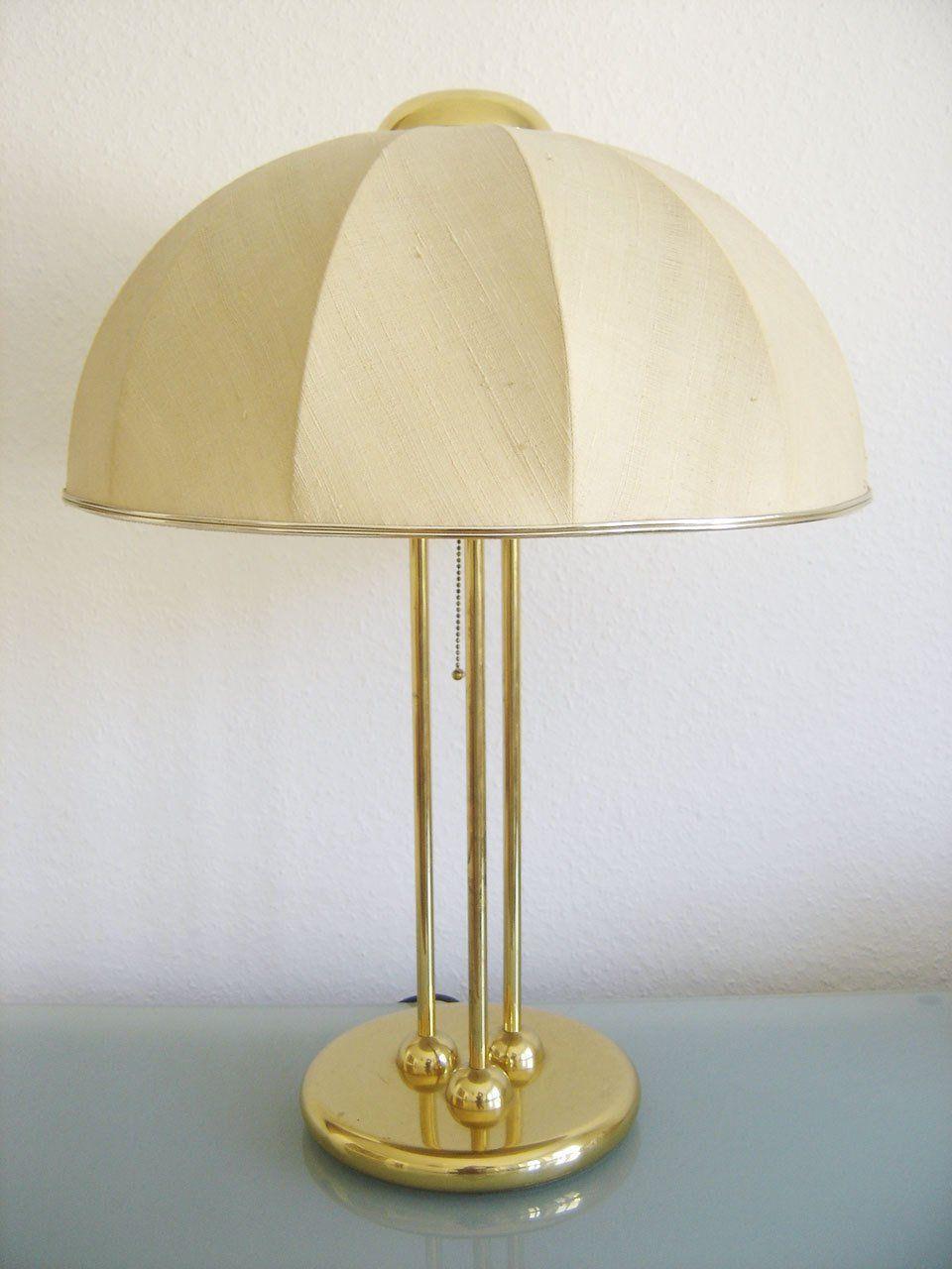 Monumental Mid Century Modern Xxl Table Lamp Bedside Light 1950s