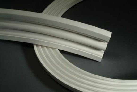 Azek trim is flexible and can be used around circular and arched windows exterior trim azek Plastic molding for exterior doors